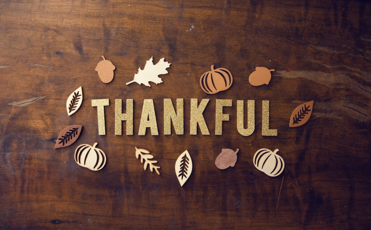 Finding the Strength to Be Thankful in 2020