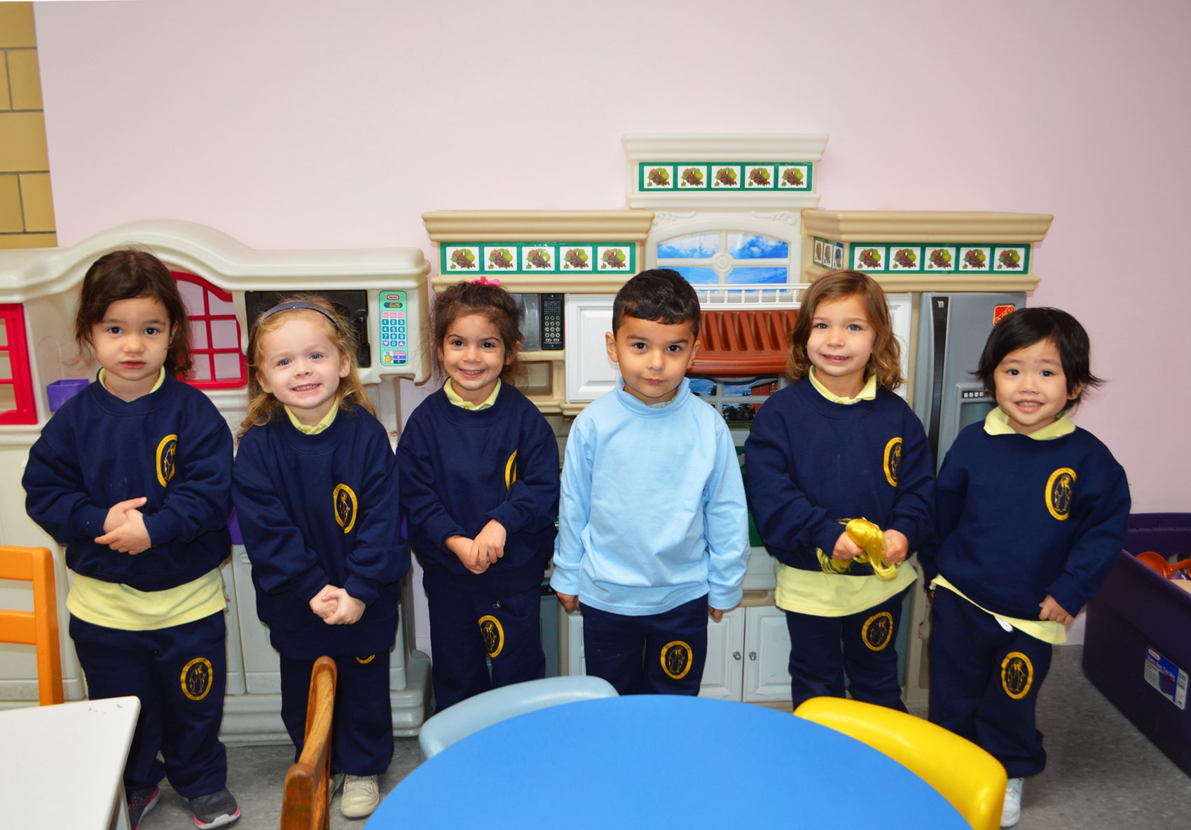 young students in classroom