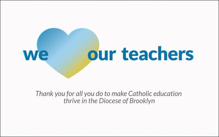 we heart our teachers